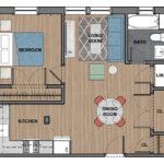 6300 1 Bedroom Apartment