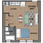 6300 Studio Apartment
