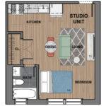 6300 Studio Apartment